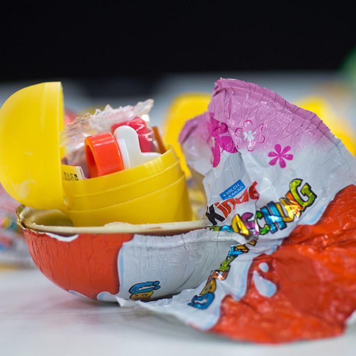Echte Überraschung: Polizei findet Drogen in Ü-Eiern