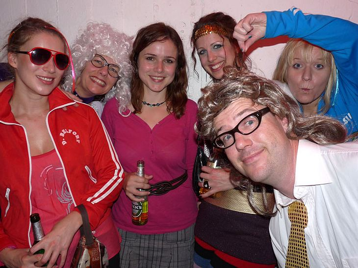 Ugly-Dance-Contest 2010Die Zuschauer haben sich auch herrlich ugly in Schale geworfen!