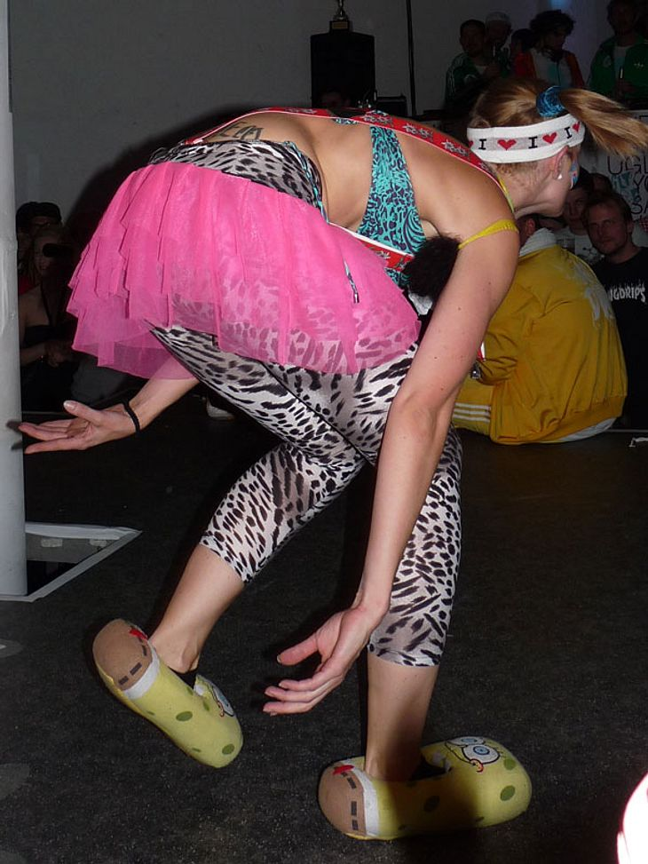 Ugly-Dance-Contest 2010Diese Teilnehmerin gab alles, um schrecklich ugly zu tanzen und auszusehen!