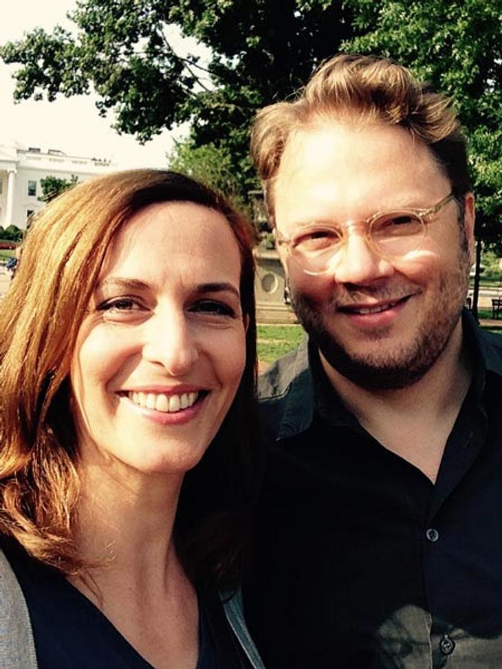 Ulrike Frank und ihr Ehemann Marc Schubring