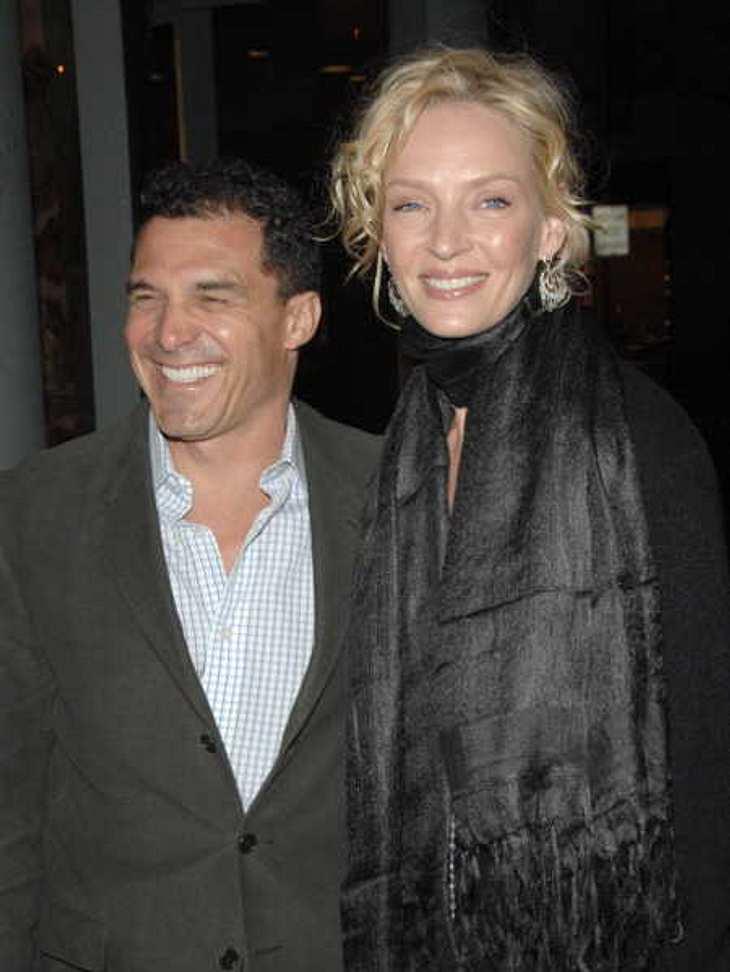 Uma Thurman & André Balazs im Jahr 2007