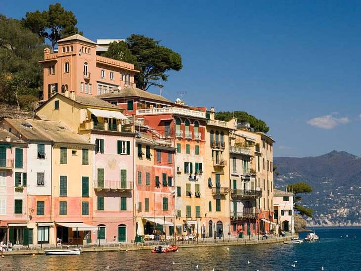 ,Urlaubsziele der StarsLa Vita è bella - vor allem im 500-Einwohner Fischerdörfchen Portofino!