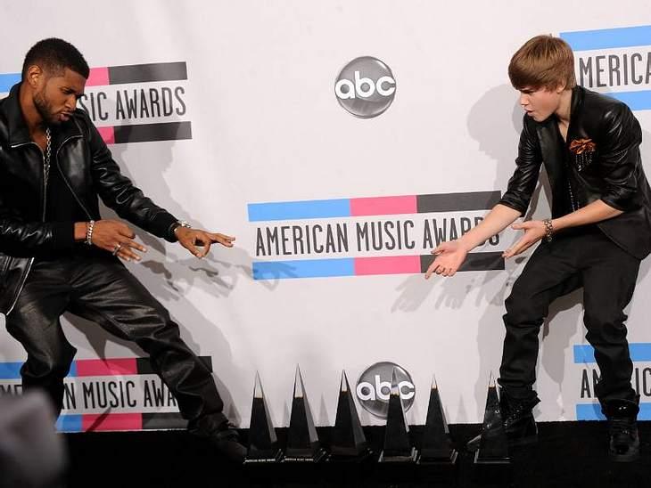 MTV Music AwardsUsher und Justin Bieber