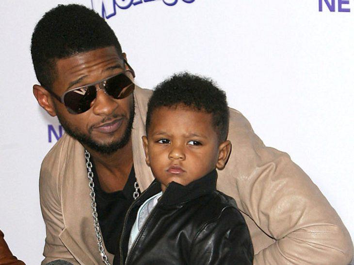 Der Sohn von Usher ist wieder zu Hause.