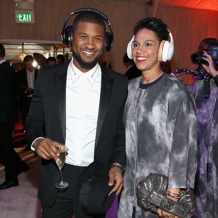 Usher und  Grace Miguel haben heimlich geheiratet