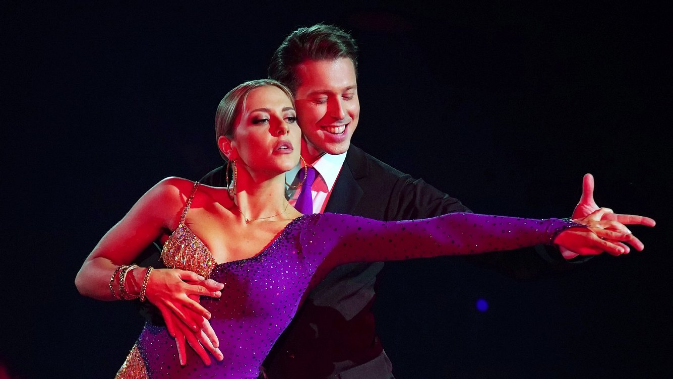 Valentina Pahde und Valentin Lusin