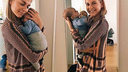 Valentina Pahde im Baby-Fieber
