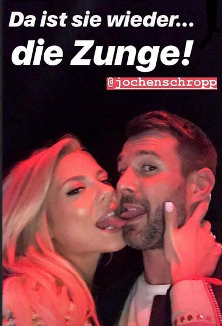 Heiße Zungenspiele zwischen Valentina Pahde und Jochen Schropp