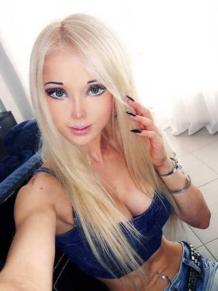 Valeria Lukyanova wurde überfallen.