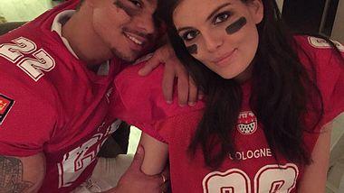 Vanessa Fuchs mit ihrem Freund  - Foto: Facebook / Vanessa Fuchs