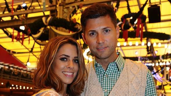 Vanessa Mai und Mann Andreas Ferber auf dem Oktoberfest 2017 - Foto: Imago