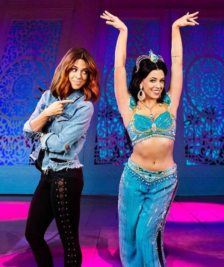 Kindheitstraum: Vanessa Mai wird zur Aladdin-Prinzessin
