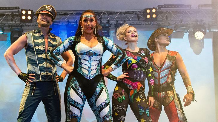 Vengaboys 2018 auf dem Mighty Hoopla Festival in London