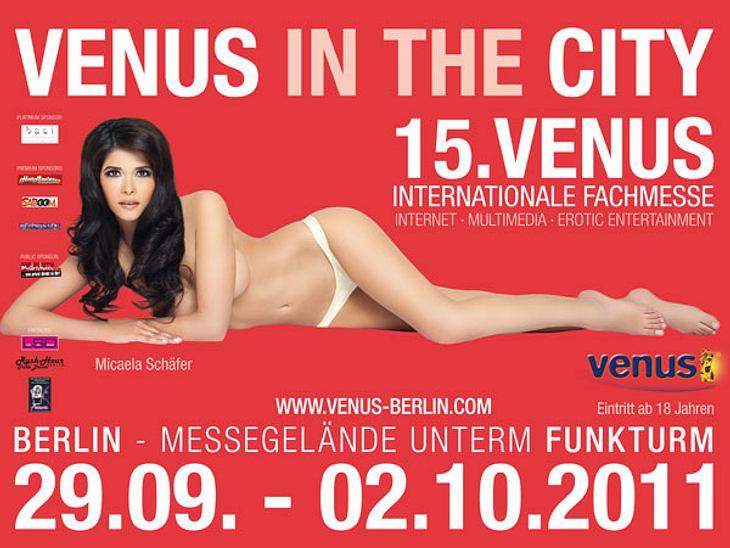 """undefined Gina-Lisas Vorgängerinnen: Peinliche Busen-Parade auf der """"Venus"""""""
