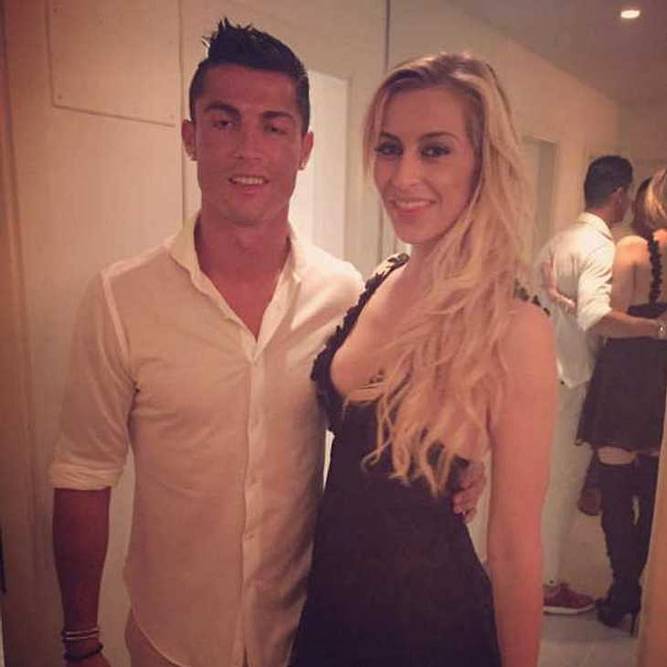 Verena Kerth probiert neuen Fußballer: Steht ihr Cristiano Ronaldo?