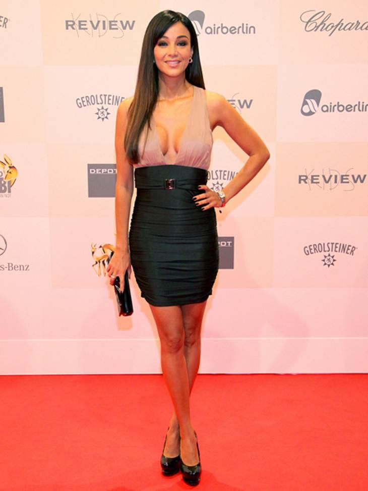 Tribute to Bambi 2012 - Der Look der StarsVerona Pooth (44) machte im hautengen Kleid eine ausgezeichnete Figur.
