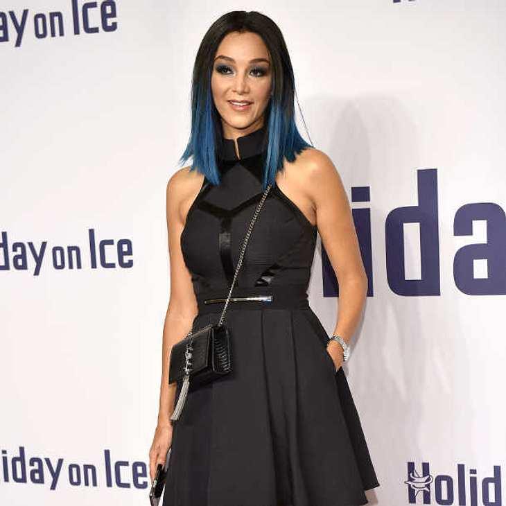 Verona Pooth hat die Haare blau