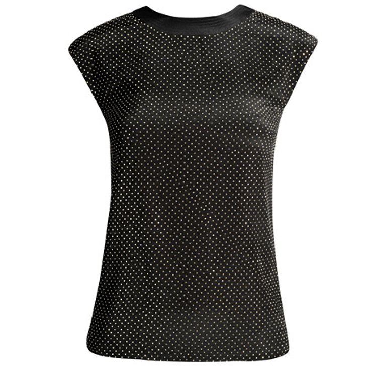 """Versace for H&M: die gesamte Kollektion,Seidentop, um 60 Euro.Hier geht es zur gesamten Kollektion """"Versace für H&M"""""""