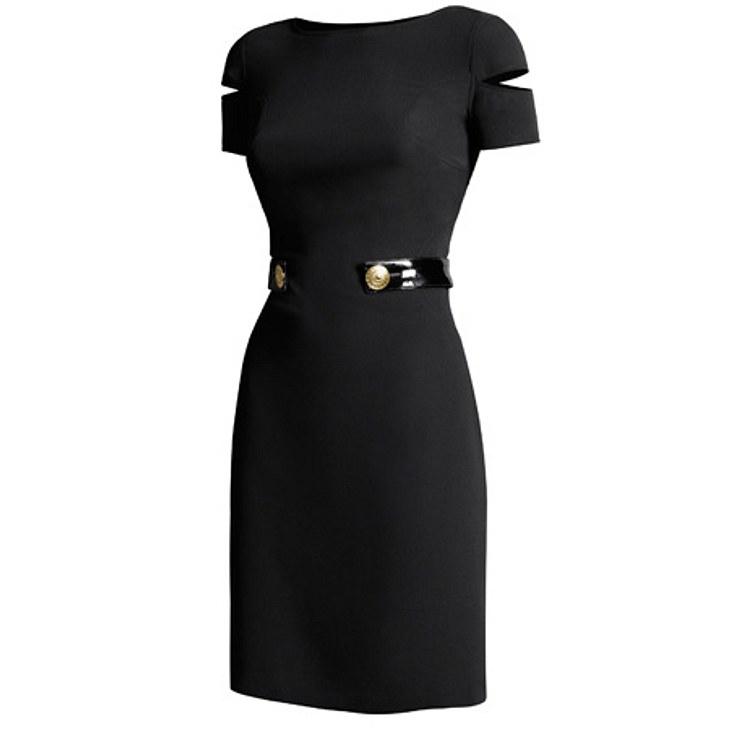 """Versace for H&M: die gesamte Kollektion,Seidenkleid, um 130 Euro.Hier geht es zur gesamten Kollektion """"Versace für H&M"""""""