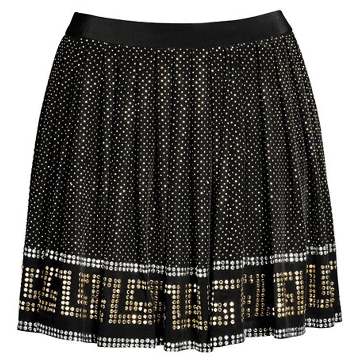 """Versace for H&M: die gesamte Kollektion,Seidenrock, um 100 Euro.Hier geht es zur gesamten Kollektion """"Versace für H&M"""""""