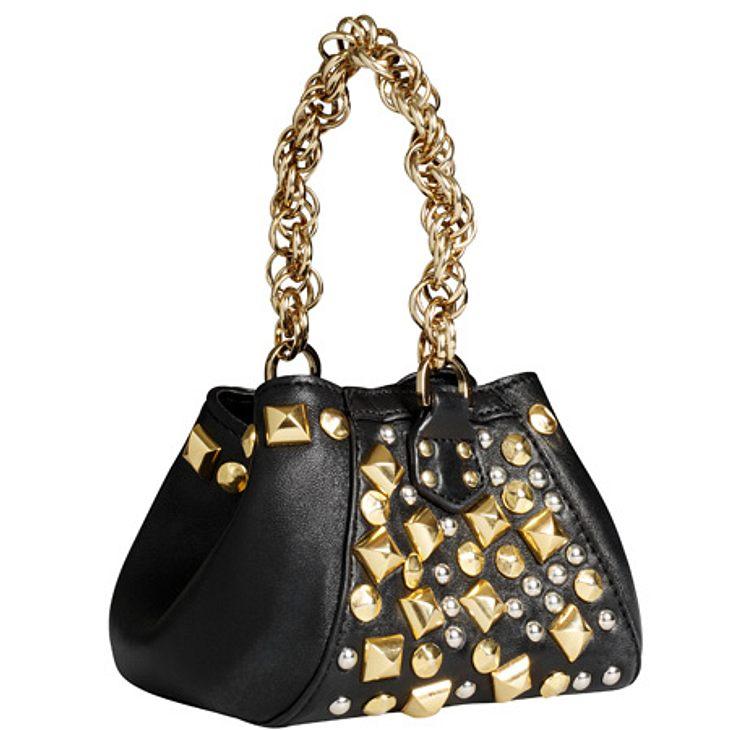 """Versace for H&M: die gesamte Kollektion,Tasche, um 100 Euro.Hier geht es zur gesamten Kollektion """"Versace für H&M"""""""