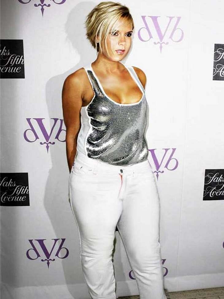 Size Zero-Mitbegründerin Vikotria Beckham würde bei diesem Bild sicher der Schlag treffen. Vielleicht fänd es David aber auch total sexy?!