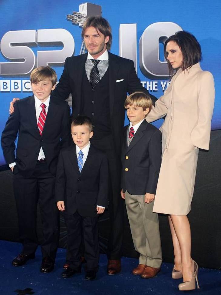 Das Baby von Victoria und David Beckham ist da