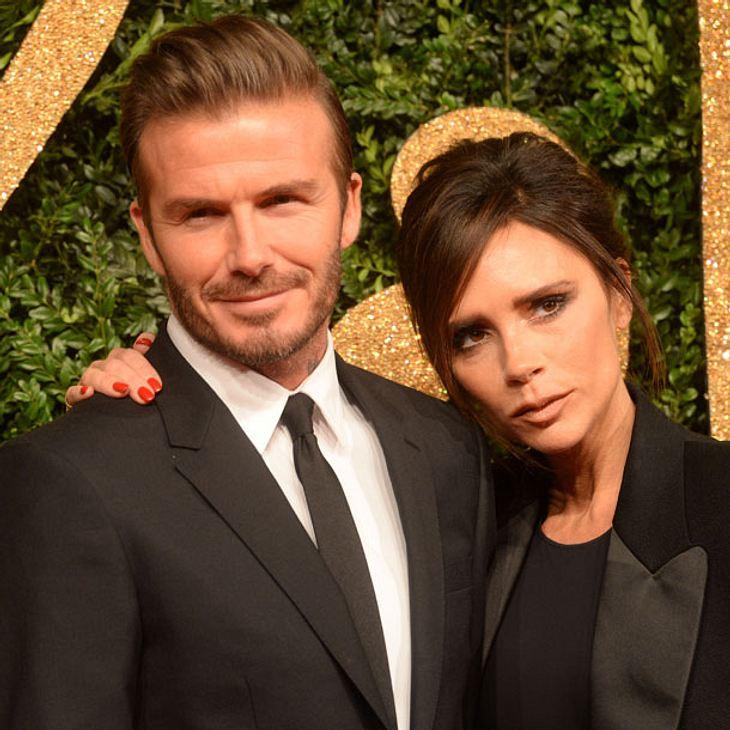 David und Victoria Beckham zeigen sich total verliebt