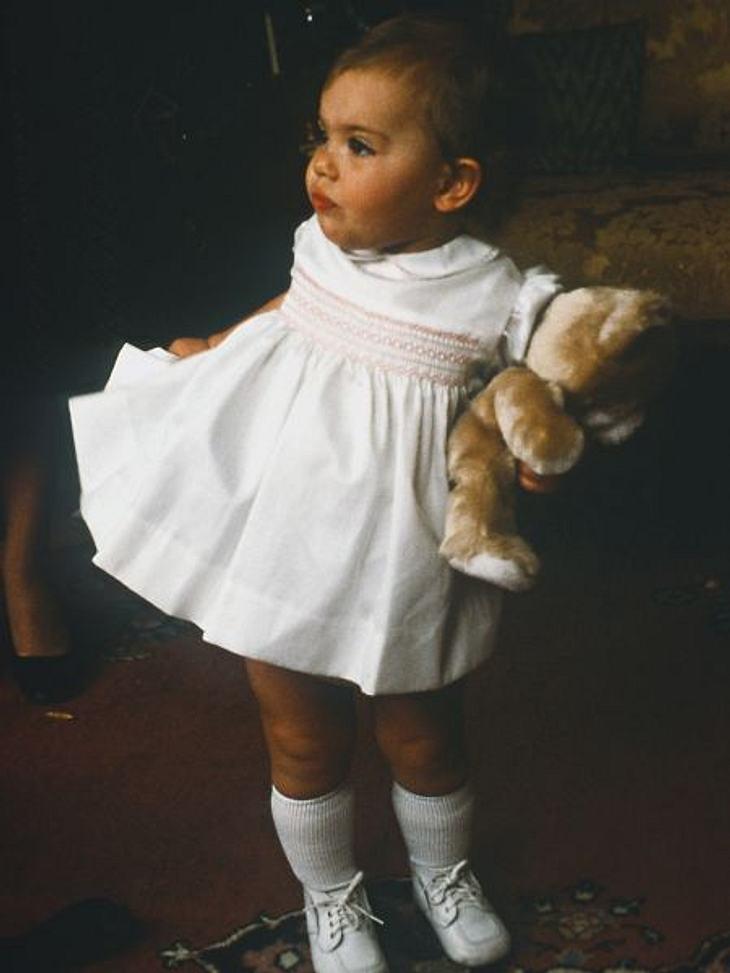 So süß war Victoria von Schweden als Baby