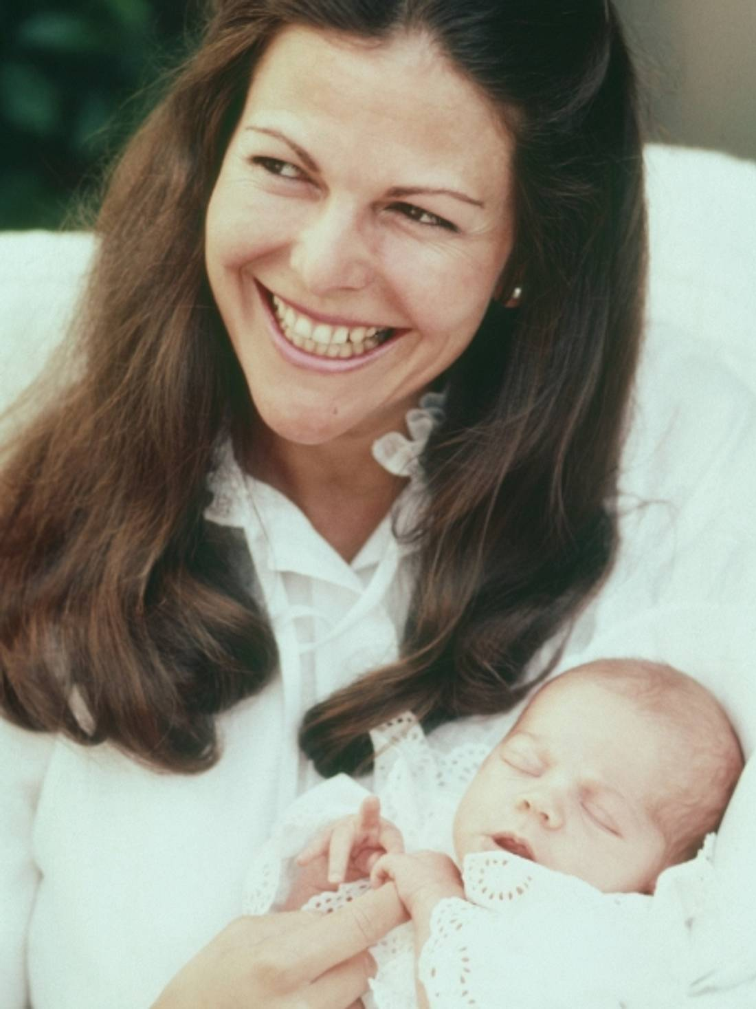 So süß war Victoria von Schweden als Baby - Bild 1