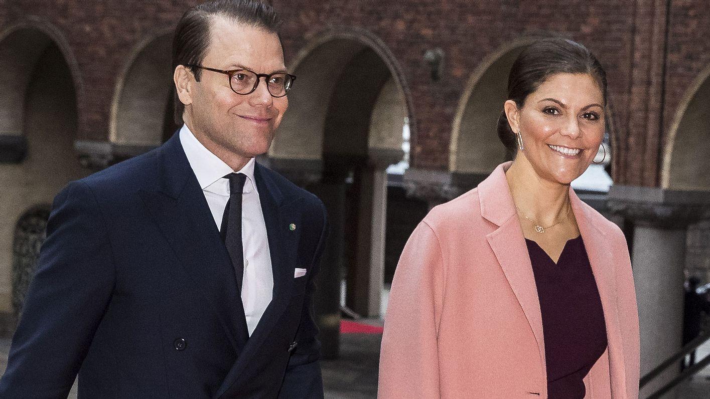 Victoria und Daniel von Schweden