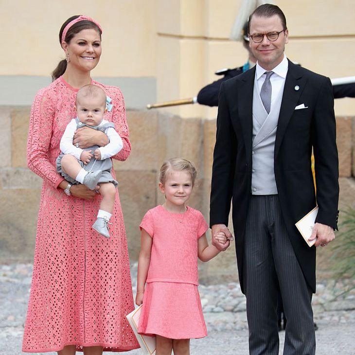 Victoria von Schweden mit Familie