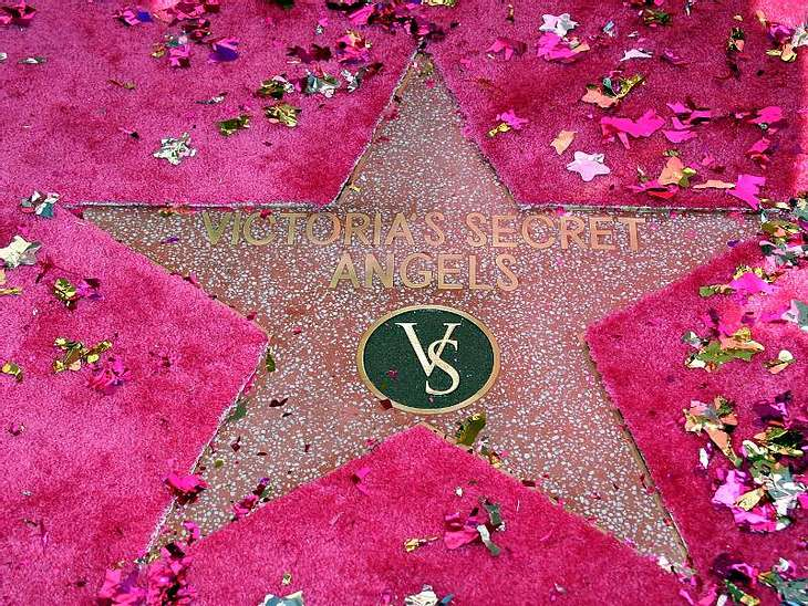 Walk of Fame: Die Sternstunde der Stars,Sogar die Engel von Victoria's Secret haben ihren eigenen Stern.