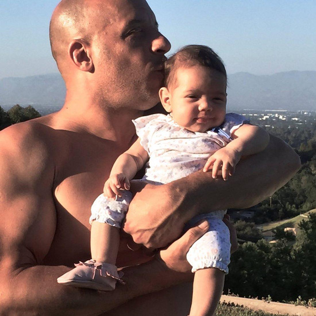 Tochter Pauline ist Vin Diesels ganzer Stolz