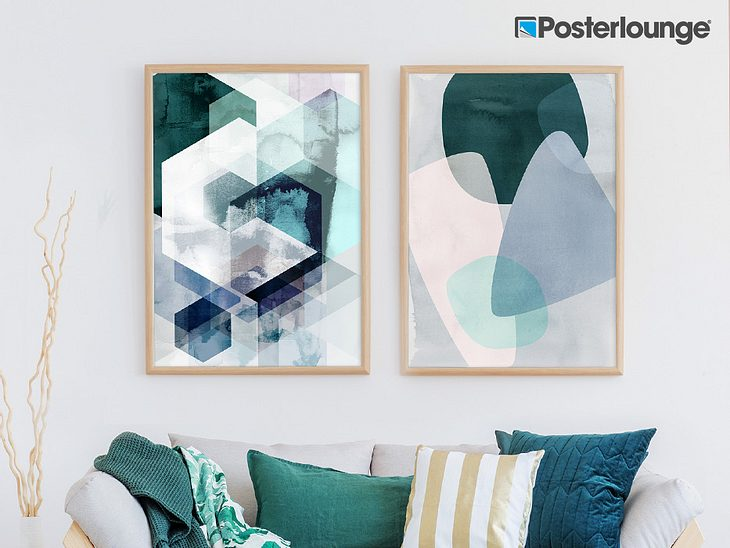 Gewinne 3 x 100 Euro-Gutscheine von Posterlounge und shoppe Wandbilder