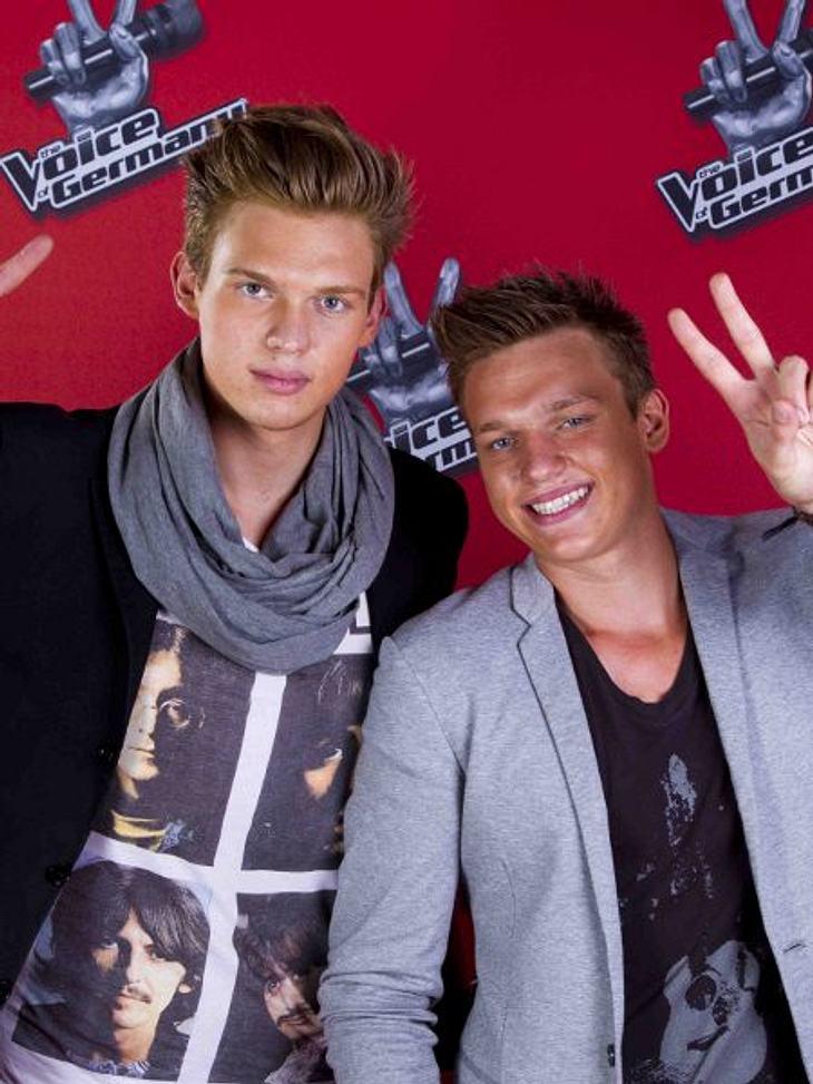 """""""The Voice of Germany"""" 2012Felix und Lucas Hain (21/18) aus Karlstadt."""