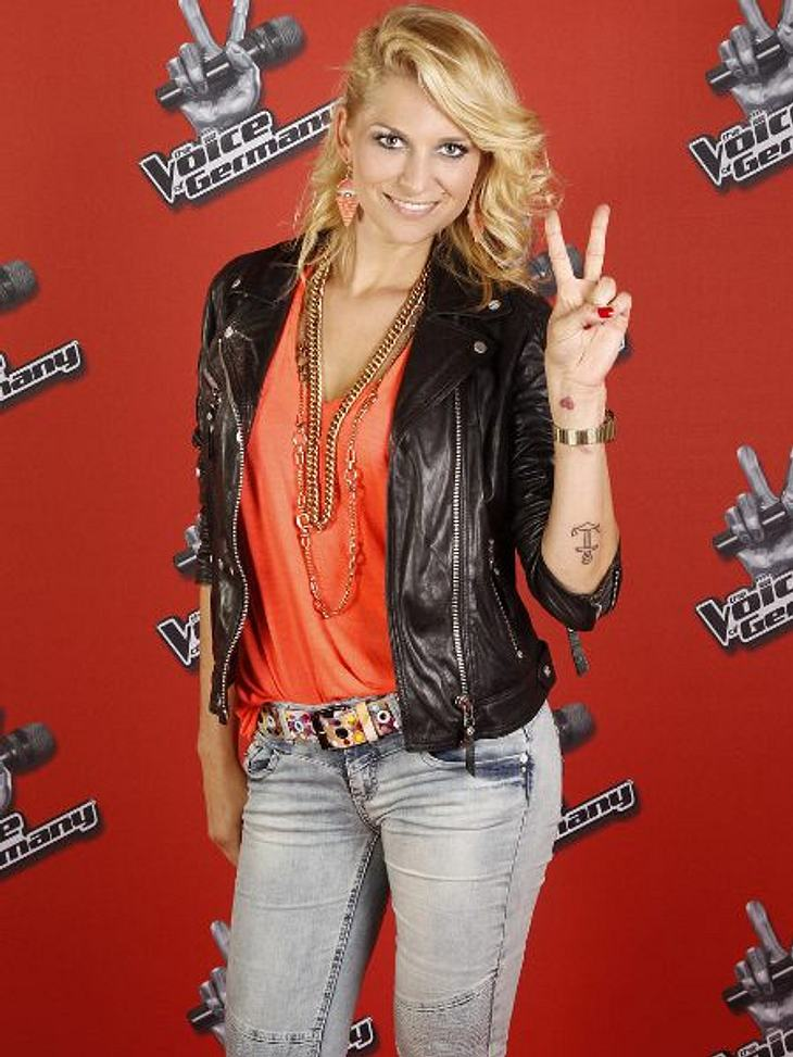 """""""The Voice of Germany"""" 2012Guilia Wahn (24) aus Münster."""