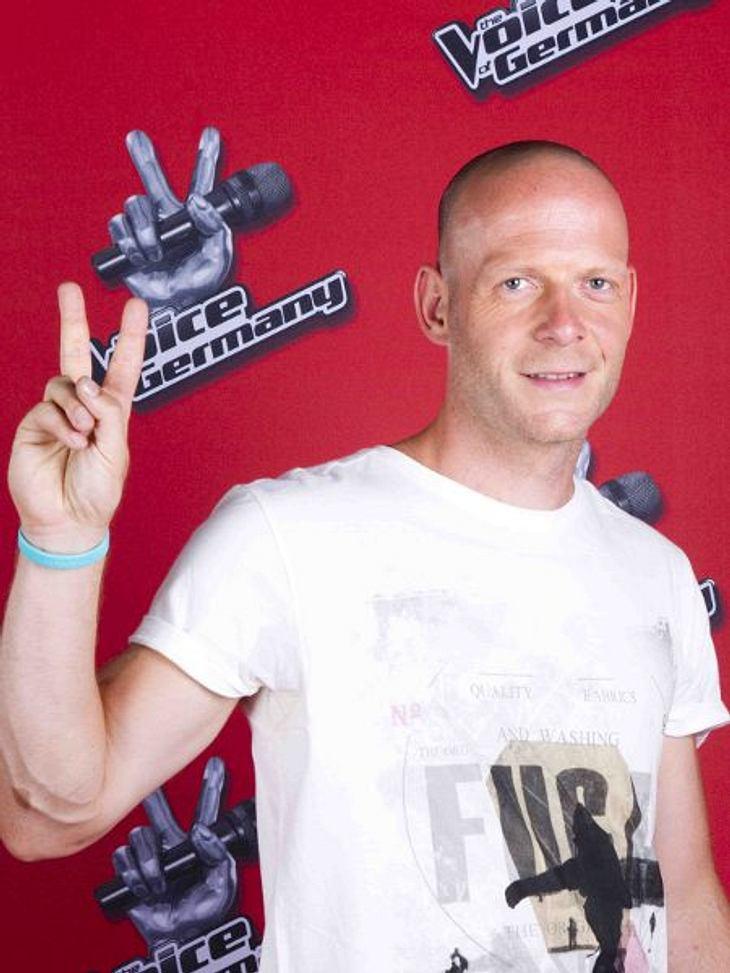 """The Voice of Germany"" 2012Marcel Beuter (38) aus Neubrandenburg."