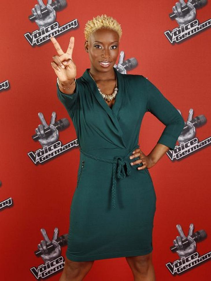 """The Voice of Germany"" 2012Asiata Blackman (32) aus Zaandam (Niederlande)."