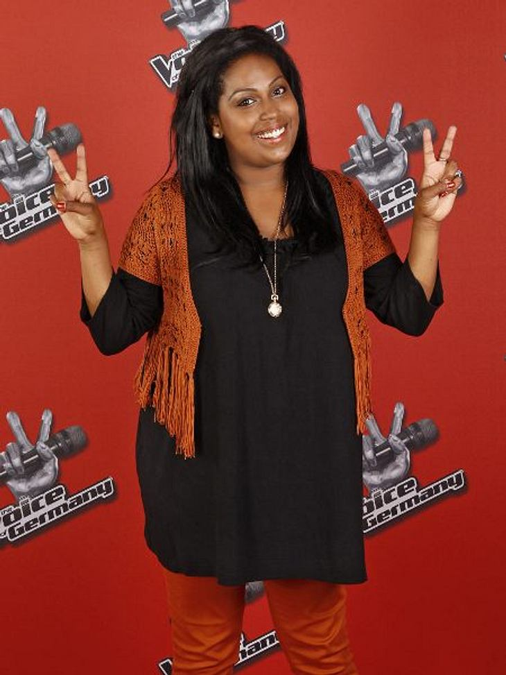 """""""The Voice of Germany"""" 2012Mena Mulugeta (20) aus Weiler."""