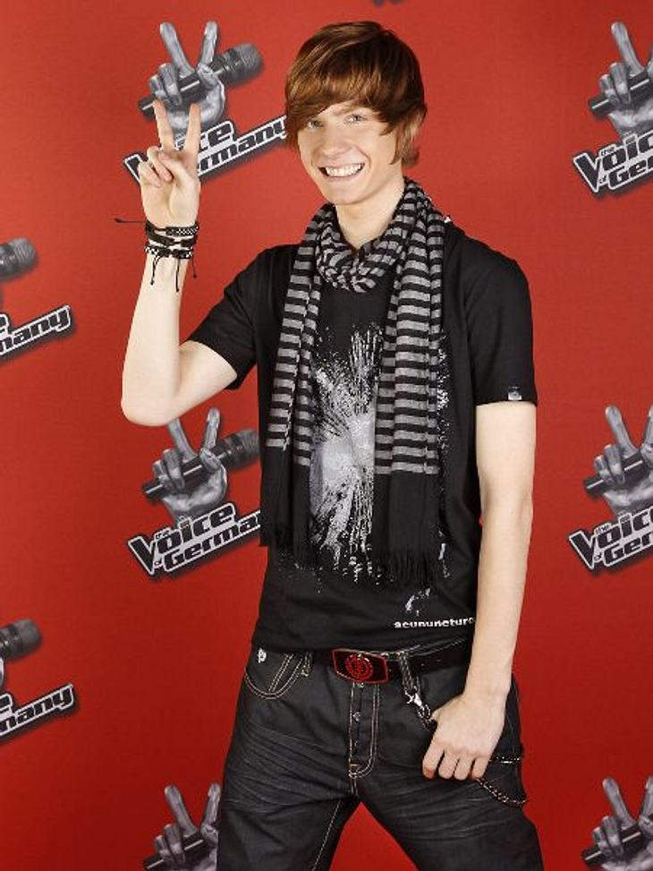 """""""The Voice of Germany"""" 2012Neo (18) aus Baden."""