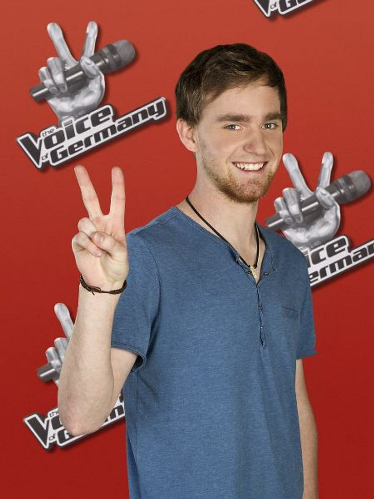 """The Voice of Germany"" 2012Valentin Merk (23) aus Berlin."