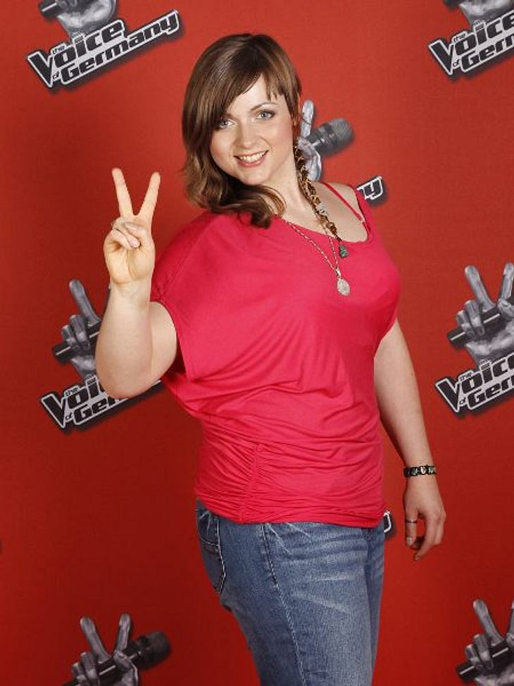 """""""The Voice of Germany"""" 2012Evi Lancora (24) aus Hannover."""