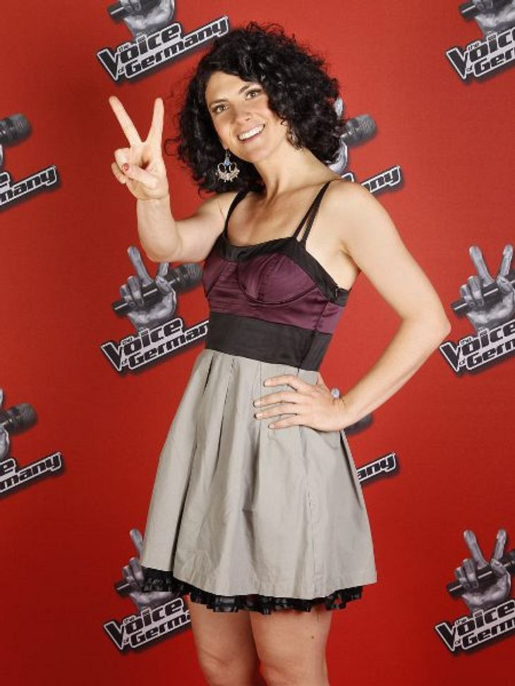 """""""The Voice of Germany"""" 2012Hannah Pearl Gash (33) aus Berlin."""