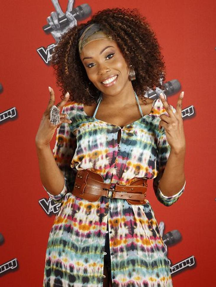 """""""The Voice of Germany"""" 2012Jessica Mears (31) aus Hamburg."""