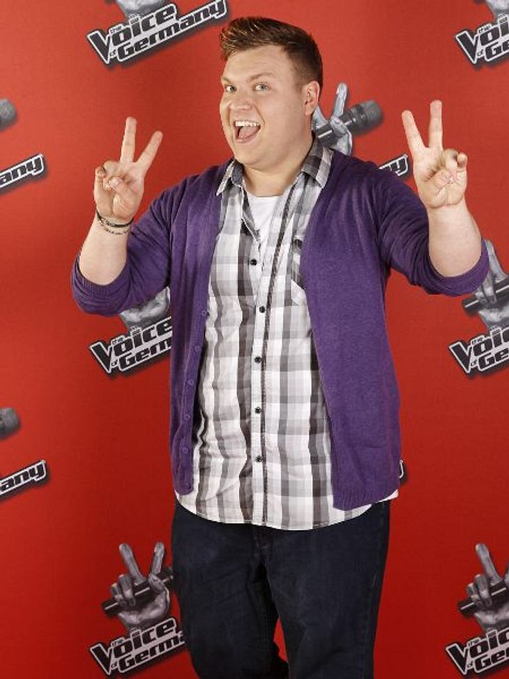 """The Voice of Germany"" 2012Michael Heinemann (26) aus Dresden."