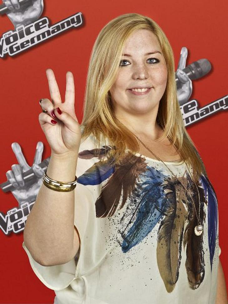 """""""The Voice of Germany"""" 2012Ronja Fischer (18) aus Mitterfels."""