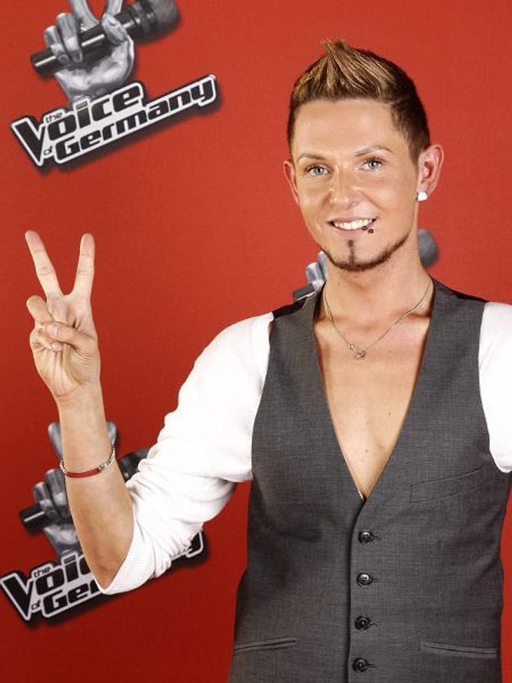 """The Voice of Germany"" 2012Marcel Gabriel (24) aus Bad Harzburg."