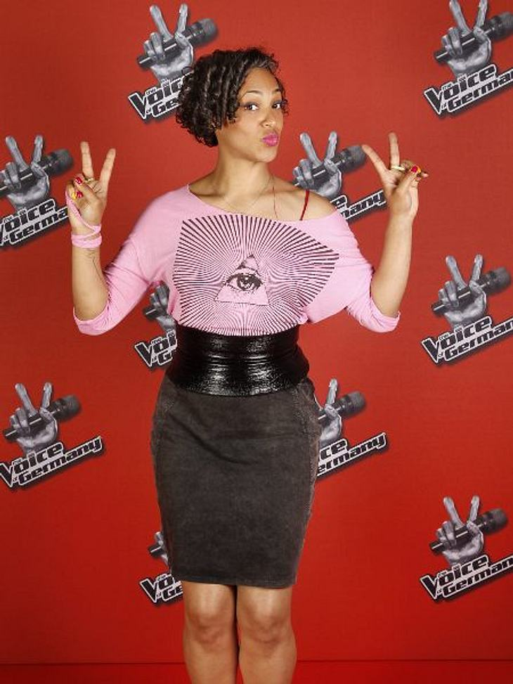 """The Voice of Germany"" 2012Sandra Amarie (35) aus Berlin."