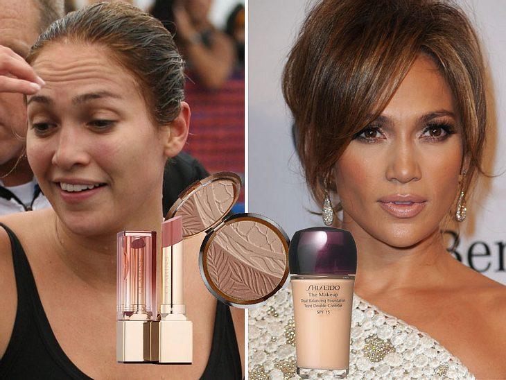 Vorher-Nachher-Stars: Von ungeschminkt auf Glamour-Look